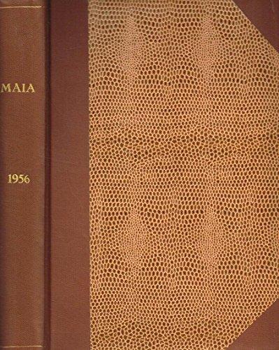 MAIA. RIVISTA DI LETTERATURE CLASSICHE N.S. ANNO VIII.