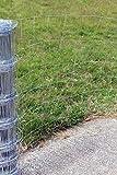 Easipet Grillage/Clôture pour bétail 50m x 1m galvanisé. M8/100/15 (732)