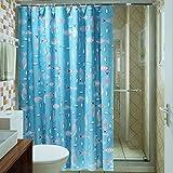 Duschvorhänge,Bad Trennwand Vorhang Wasserdicht Anti Schimmel Verdicken Sie Umweltschutz-K 300x200cm(118x79inch)