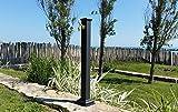 Brunnen mit Spalte Gusseisen und Stahl mit Wasserhahn für Außen Haus Garten Typ Sydney