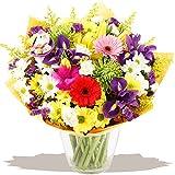 Eden4flowers SPG-NSWP  New Season Spring Flowers Bouquet - Blue
