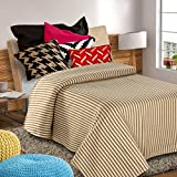 Blanket/Single-Double Bed/Polar Fleece/Luxury Blanket/Brown Colour/All Season/Easy Wash Care/by Nirisha (Double)