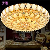 LFNRR Stile Wohnzimmer Schlafzimmer Lampen-LED Deckenleuchte Kristall