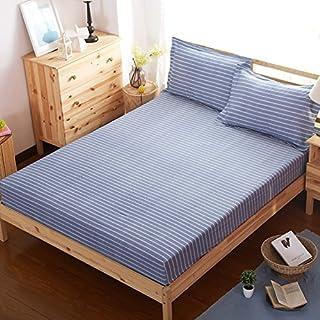 FHFGHYURBNYFGHFBY Bettlaken/100% Baumwolle/Full Cotton tagesdecke/Bett Sets/Sheet/Protector/matratzenbezug-G 180x200cm(71x79inch)