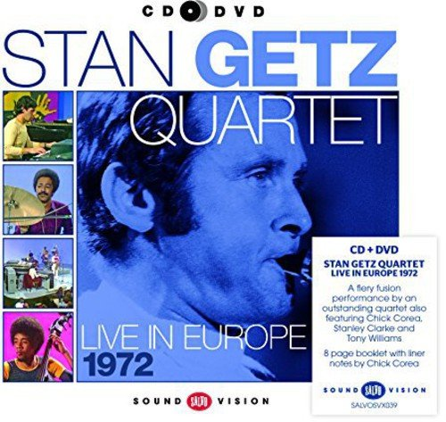 Live in Europe 1972 (CD+Dvd) (One Direction Live-dvd)