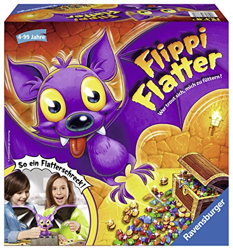 Preisvergleich Produktbild Ravensburger Spiele 22316 - Flippi Flatter, Aktionsspiel
