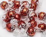 LINDT LINDOR MILK CHOCOLATE RED TRUFFFLES (+ bonus Sea...