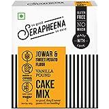 Serapheena Vanilla Cake Mix, 185g |Gluten Free, Vegan, Eggless|