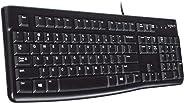 Logitech Keyboard K120 (QWERTZ, deutsches Tastaturlayout)