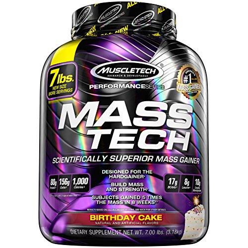Muscletech Integratore Alimentare di Carboidrati, Proteine e Creatina - Prodotto in Polvere in Confezione da 3.18 kg
