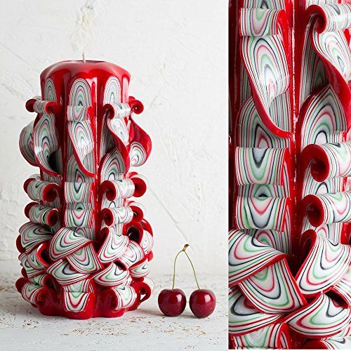 big-red-and-white-passionate-colors-decorative-carved-candle-evecandles