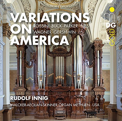 Organ Works-Variations on America