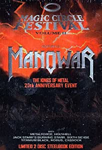 Magic Circle Festival Vol 2 (MANOWAR), Lim. Steelbook Edition [(2DVD+booklet)]