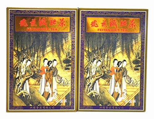 Fei Yan FeiYan New Swan Diet Slimming Tea five ladies version (2 Boxes)