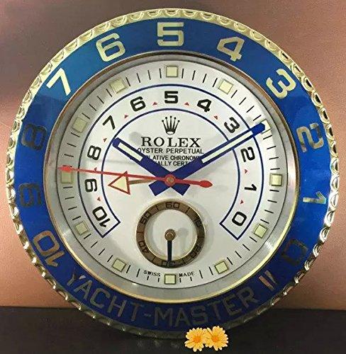 FIR Rloex orologio da parete Yacht-Master super-luminoso sordina