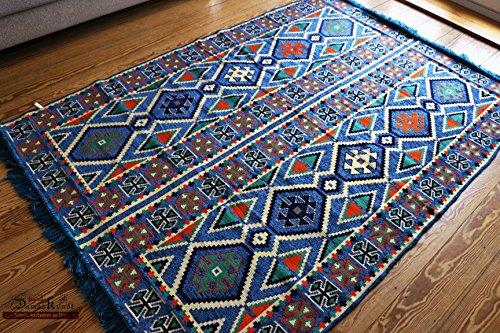 200x 135cm alfombra Kilim Oriental alfombra Kelim/alfombrilla de suelo, tapiz colgar en la pared, camino de mesa, zona alfombra, alfombras, Teppich, läufer, Tapis, & # x43a; y # x43E; Y # X432; y # x435; Y # x440;, alfombra, nuevo, damaskunst S 1–4-42