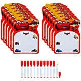 Asera 24 Sets of Disney cars (2 in 1 board) Writing board and Time Table for Kids for Birthday Return Gifts Disney Cars Theme Party