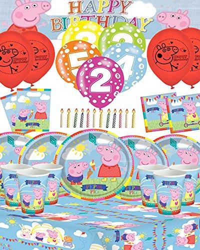 Peppa Pig Ultimate Birthday Kit mit