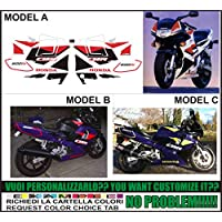 GRAPHICSMOTO h420 Kit adesivi decal stickers HONDA CBR 600 F2 1994 (ability to customize the