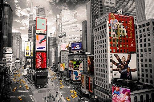 GB Eye LTD, New York, Times Square Ariel, Poster, 61 x 91,5 cm