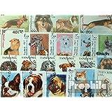 Motive 50 verschiedene Hunde Marken (Briefmarken für Sammler)