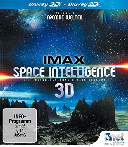IMAX Space Intelligence 3D - Die Entschlüsselung des Universums - Vol. 3: Fremde Welten [3D Blu-ray]