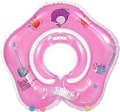 VSTON Baby Float Ring Neugeborenen Schwimmen Bad Ringe Sicherheit Sicherheits Hilfe Float Schwimmen Aufblasbare Floatation Ring (Pulver)
