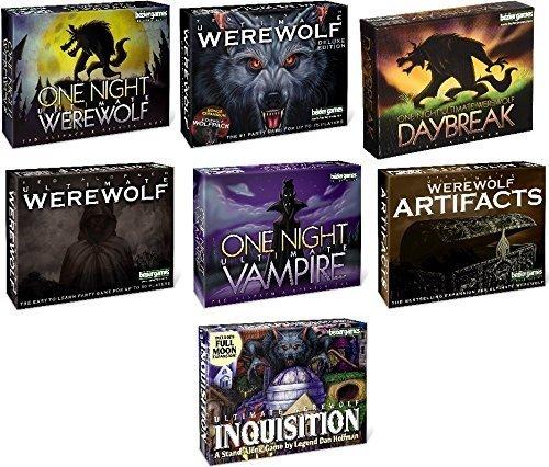 Ulti-Mate Ultimate Werewolf Mega Bundle - Base Games PLUS Expansions