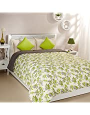 Solimo Microfibre Printed Comforter, Double (Spring Blossom, 200 GSM)