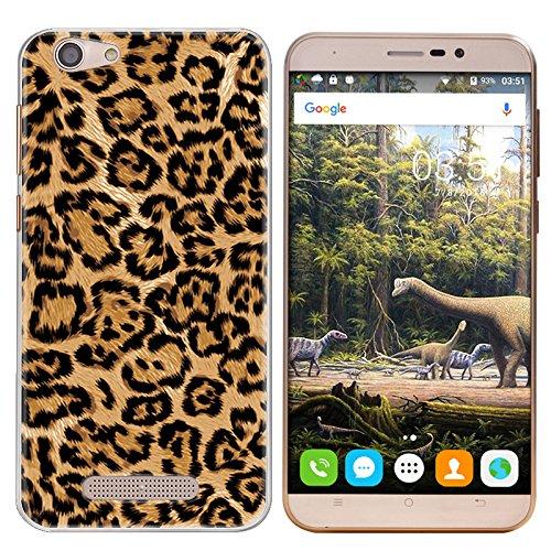 Easbuy Handy Hülle Soft Silikon Case Etui Tasche für CUBOT NOTE S / Dinosaur Smartphone Cover Handytasche Handyhülle Schutzhülle