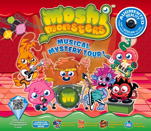 Moshi Monsters Musical Mystery Tour (Augmented Reality Book)