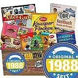 Original seit 1988 | DDR Korb Schokolade | Schokolade Geschenkset M | Zetti, Maulwurf, Viba | Schokolade zum Geburtstag Geburtstags Geschenke zum 30 Geschenk zum 30 Geburtstag Freundin
