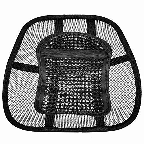 vitihipsy Autositz Stuhl Rückenkissen Mesh Lendenrückenstütze Autositz Stuhl Kissen Massage Rückenkissen Pad Unterstützung Home Office