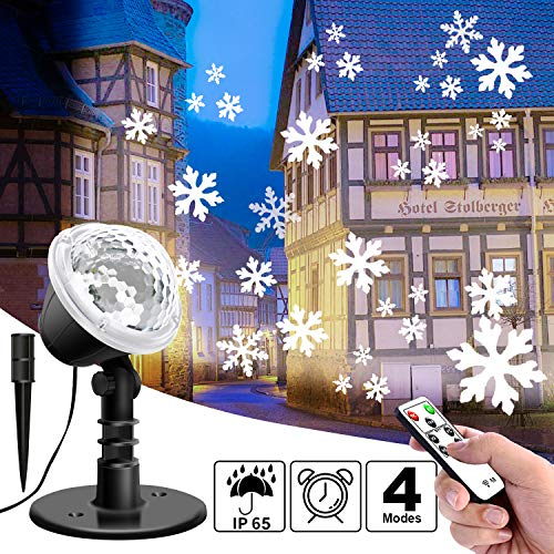 Lightess Luces Proyector Navidad Halloween LED Efecto
