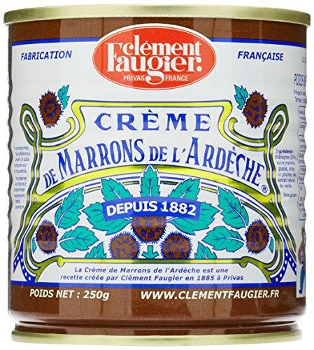 Clement Faugier Crème de Marrons de L'Ardèche 250 g - Lot de 6