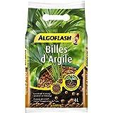 ALGOFLASH Billes d'Argile, Limite l'évaporation d'eau, 6 L, ATBILL6N, Marron