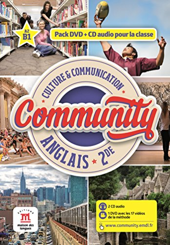 Community 2nde (1DVD + 1 CD audio) par Collectif