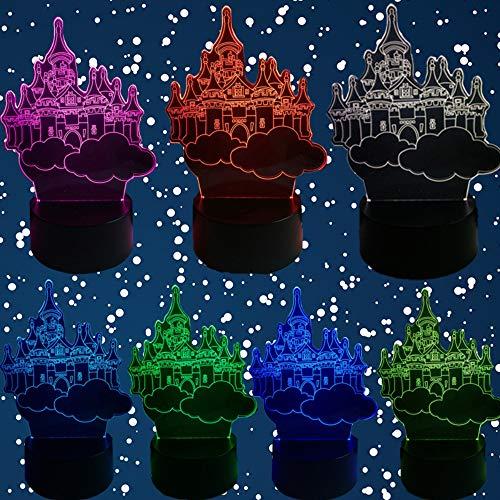 City Of Night Sky 3D Usb Led Lampe Farbverlauf Nachtlicht Home Blub Dekoration Musikliebhaber Weihnachtsferiengeschenk Acryl Tzxdbh (In Von Der Nähe Party City)