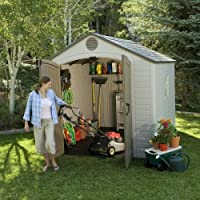Caseta de jardín Lifetime 245 x 245 x 305 cm | LIFETIME 6405