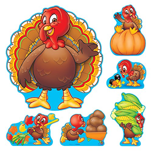 c. T-8124 Turkey Time Bulletin Board Set ()
