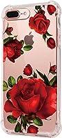 Funda iPhone 8 Carcasa Silicona Transparente Protector TPU Airbag Anti-Choque Ultra-Delgado Anti-arañazos Case para...