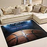 Alfombra de baloncesto LUPINZ®, alfombra de área NBA - Best Reviews Guide