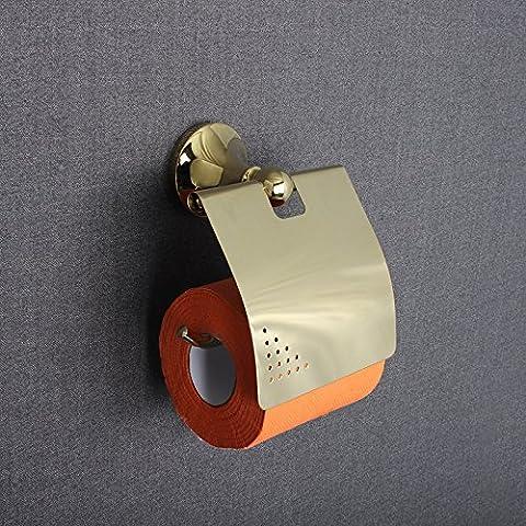 RRJH Nuovo placcato in rame continentale impermeabile bagno wc porta