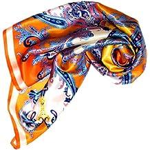 Lorenzo Cana Foulard pour la femme – écharpe de 100% soie pour le printemps  et 6d44d84781c
