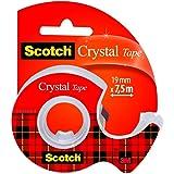 Scotch Crystal Clear 99895 plakband transparant in slakkenvorm