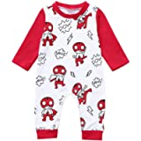 Baby Rompers Boys Girls Jumpsuit Newborn Long Sleeve Sleepsuit Outfits One Piece Playsuit Lonshell Toddler Bodysuits…