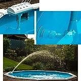 SL247 piscine LED eau Fontaine Piscine Éclairage Raccord universel sur handelsübliche einstöm Buse