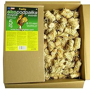 Pastillas – Encendedores de barbacoa Feniks unidades en la caja 500., para chimeneas, estufas, barbacoas y fogatas