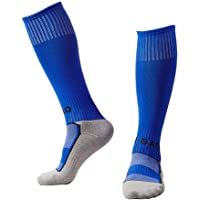 EQLEF Cotton Light Quick-drying Football Socks For Boys 6-7 Years Old