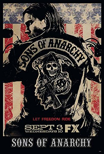 SONS of Anarchy Season 2 Vintage XL Poster, A1, ca. 58 x 87 cm